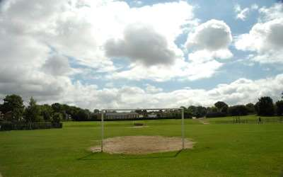 Playing fields for football and general games activity